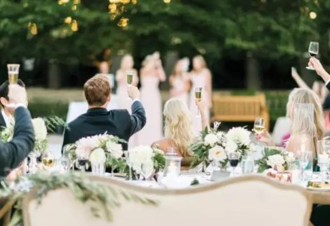 Тости у віршах на весілля