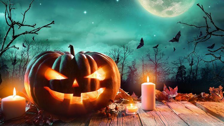 Привітання з Хелловіном
