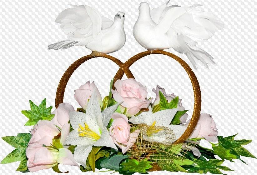 Привітання та побажання на день весілля своїми словами