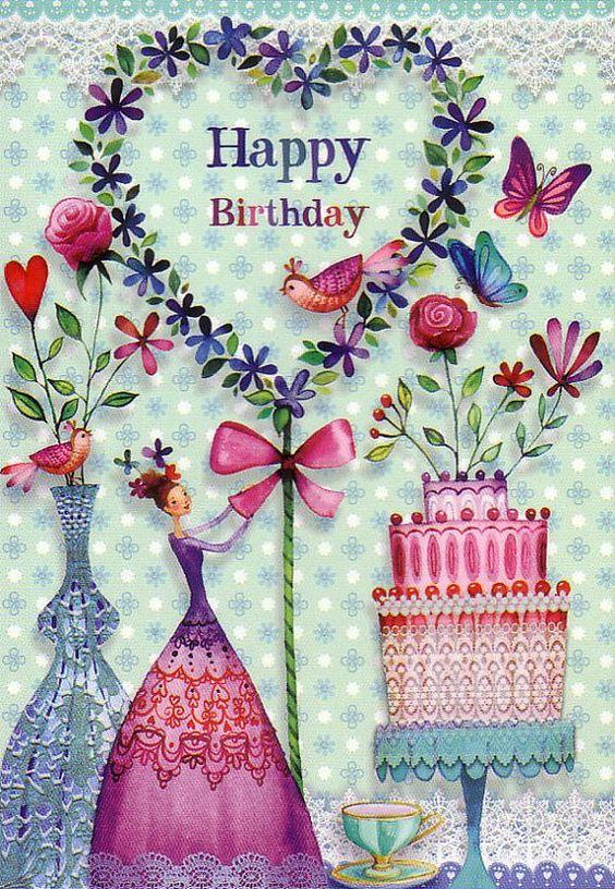 Вітання жінці подрузі з Днем народження
