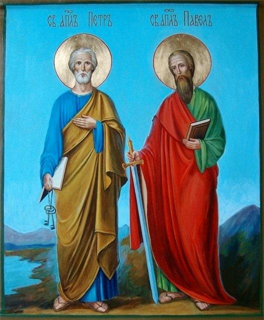 Вітання з Днем апостолів Петра і Павла