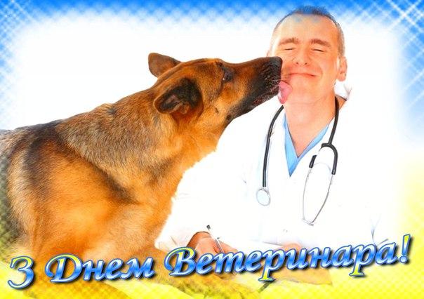Привітання з Днем ветеринара України