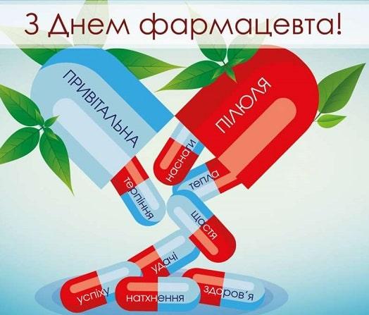 Привітання з Днем фармацевта