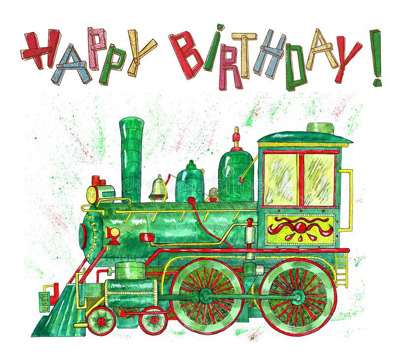 Привітання машиністу з Днем народження