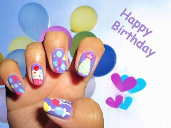 Привітання з Днем народження манікюрниці
