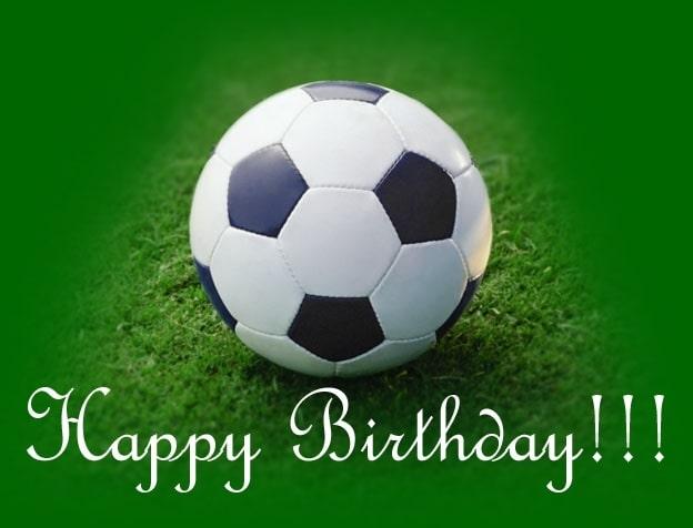 Привітання з Днем народження футболістові