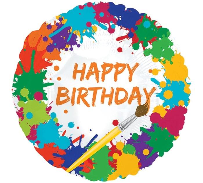 Привітання з Днем народження художнику