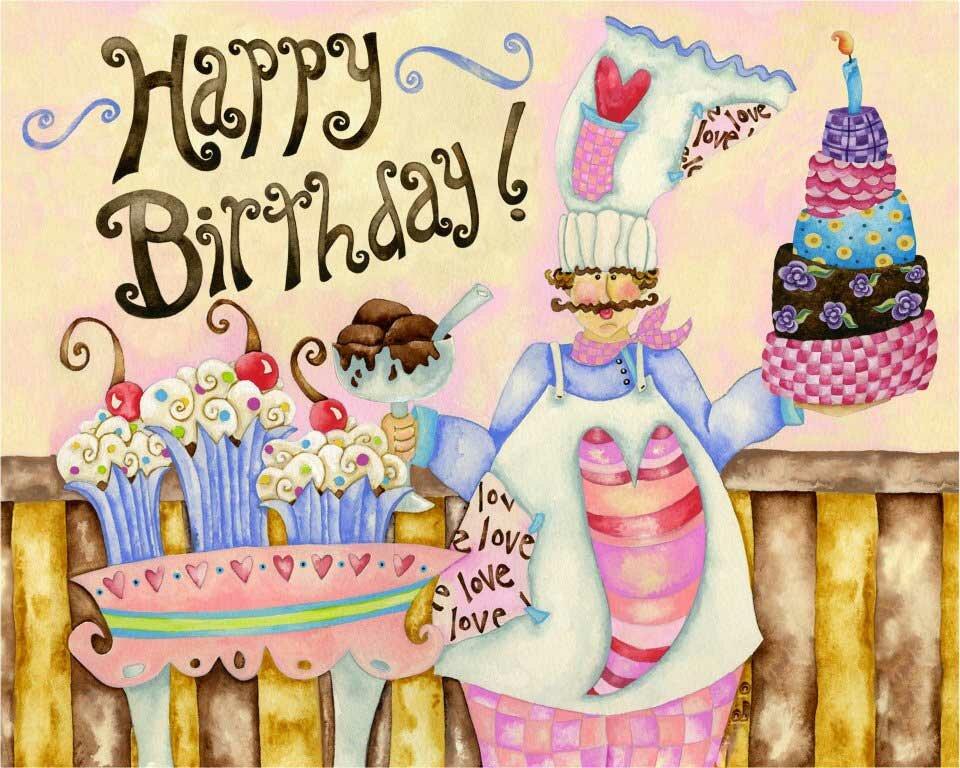 Привітання з Днем народження кухарю