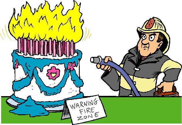 Привітання з Днем народження пожежному