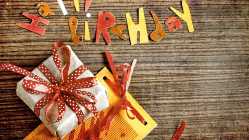 Привітання кур'єру з Днем народження