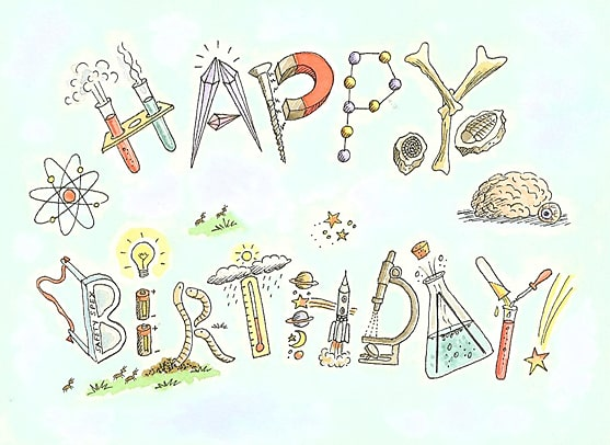 Привітання з Днем народження вченому