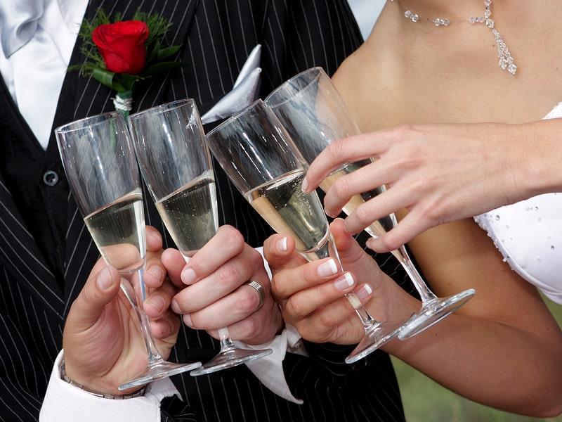 Тости на весілля від хресного