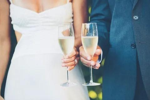Тости на весілля від хресної