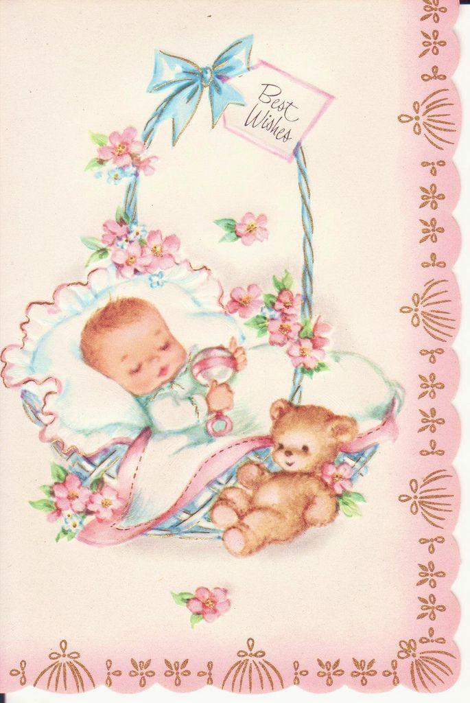 Женским днем, младенцы на открытках